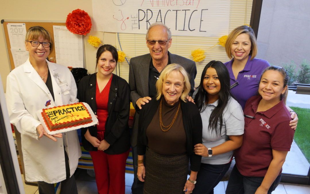 The Practice Celebrates 6th Anniversary
